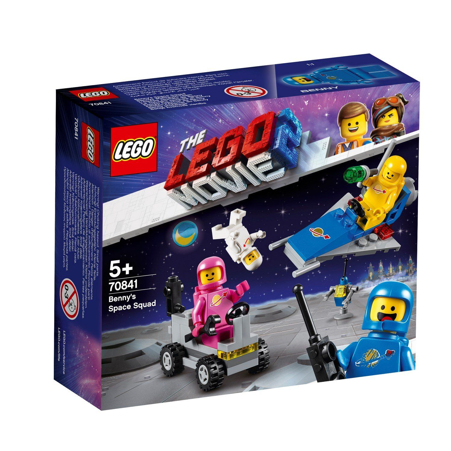 70841 Benny's Space Squad - LEGO® Bricks World
