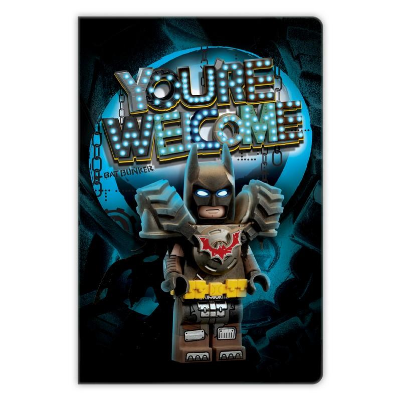 8523404 LEGO MOVIE 2 - Batman Notebook - LEGO® Bricks World