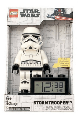 9004032 Storm Trooper Minifigure Base Clock - LEGO® Bricks World
