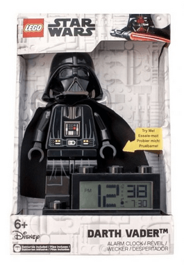 9004049 Darth Vader Minifigure Base Clock - LEGO® Bricks World