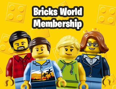 9901234 3-year Membership to Bricks World - LEGO® Bricks World