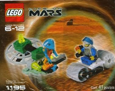 1195 Life on Mars (2001) Polybag - LEGO® Bricks World