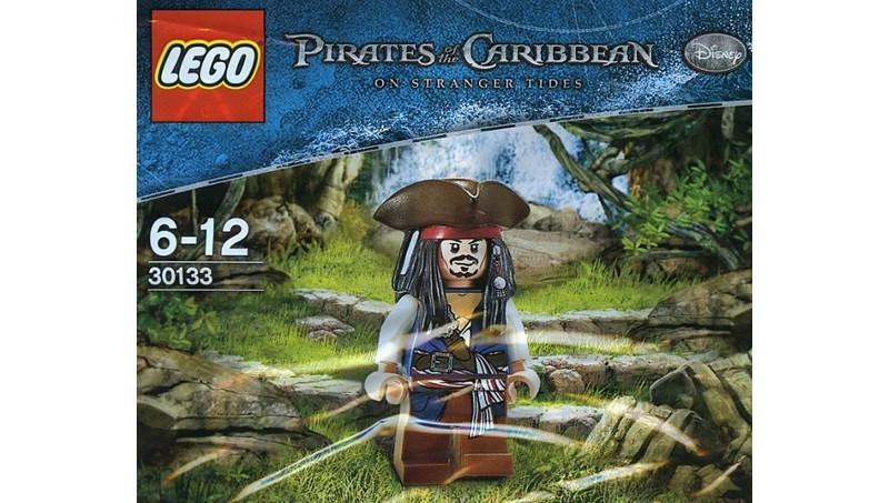Pirates of the Caribbean Lego 30133 Jack Sparrow Polybags