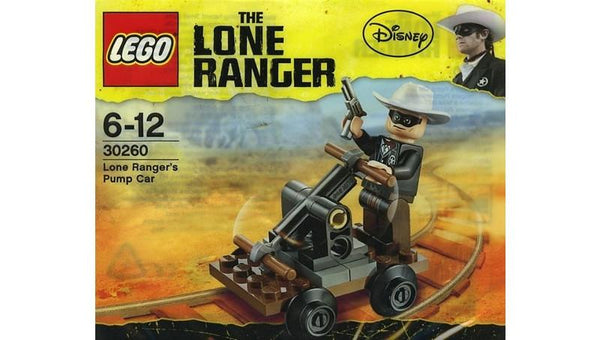 30260 Lone Rangers Pump Car Polybag - LEGO® Bricks World
