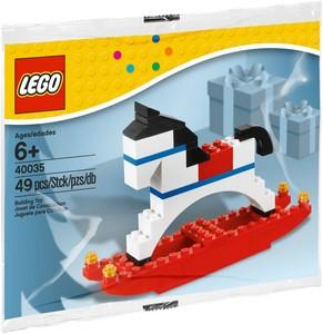 40035 Rocking Horse Polybag - LEGO® Bricks World