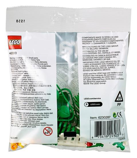40310 Botanical Accessories - LEGO® Bricks World