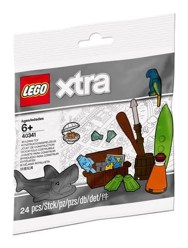 40341 LEGO® xtra Sea Accessories - LEGO® Bricks World