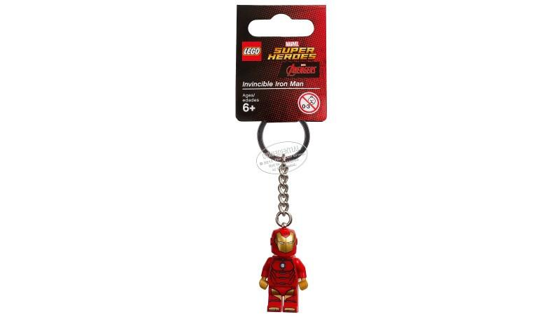 6194561 Keychain Invincible Iron Man - LEGO® Bricks World
