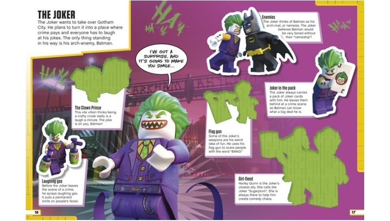 1279465 LEGO Batman Movie Ultimate Sticker Collection - LEGO® Bricks World