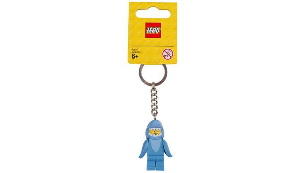 6178213 Keychain Shark Suit Guy - LEGO® Bricks World