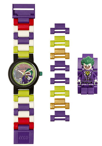 THE LEGO® BATMAN MOVIE - 8020851 Watch The Joker Minifigure Link