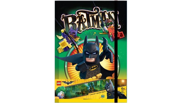 8517328 Batman Family Themed Journal - LEGO® Bricks World