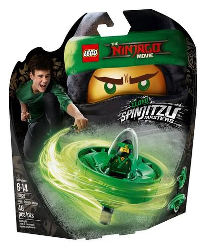 THE LEGO® NINJAGO® Movie™ - 70628 Lloyd - Spinjitzu Master