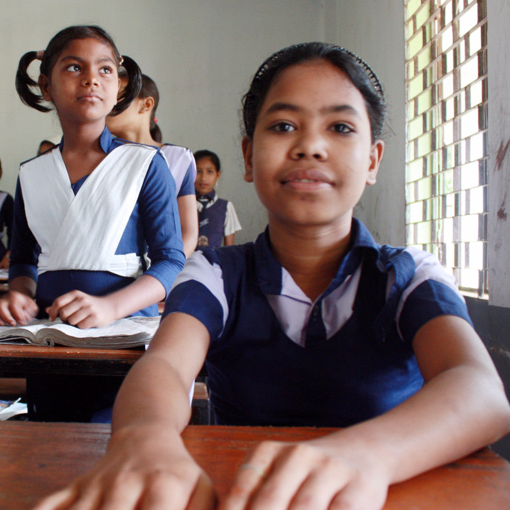 Support two girls in our girls home - Roslin and Anamika's story.