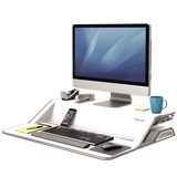 Lotus™ DX Sit-Stand Workstation – White