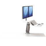 Fellowes Lotus™ RT Sit-Stand Workstation Dual