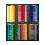 FABER-CASTELL 60 color iron box wood color