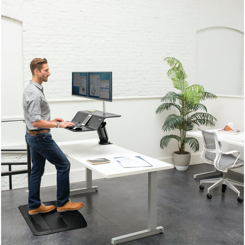 Fellowes Lotus™ RT Sit-Stand Workstation Single