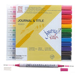 ZIG MEMORY SYSTEM  Double-headed calligraphy pen (12 color suit)