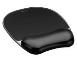Fellowes Black Crystal Mouse Pad