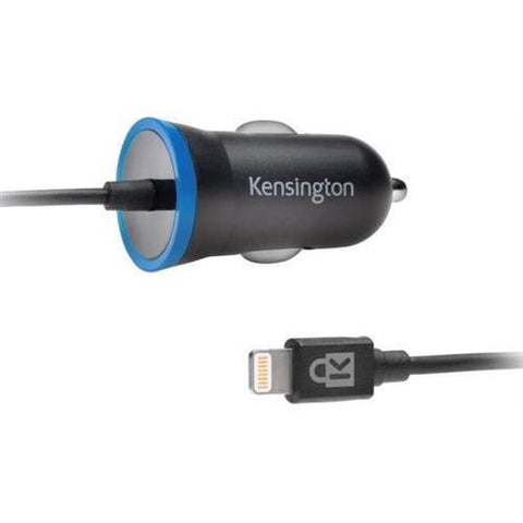 Kensington PowerBolt™ 2.4 Car Charger (Apple Lightning Cable)