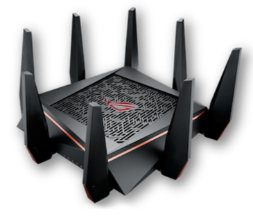 ASUS ROG Rapture Wireless-AC5300 tri-band gaming router (GT-AC5300)