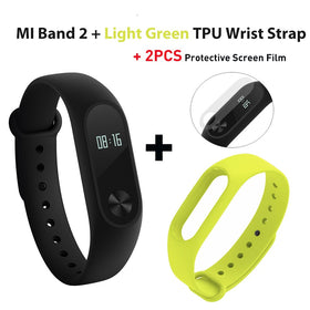 Xiaomi Mi Band 2 miband 2 Smartband OLED display touchpad heart rate monitor Bluetooth 4.0 fitness tracker Global Version - Merimobiles