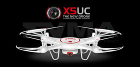SYMA X5UW & X5UC Drone 720P WIFI FPV With 2MP HD Camera 2.4G 4CH 6Axis RC Quadcopter
