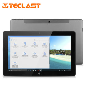 Teclast Tbook11 2 in1 Ultrabook 10.6 Inch Windows10 & Android 5.1 Dual Boot Intel Trail Z8300 4GB RAM 64GB ROM - Merimobiles