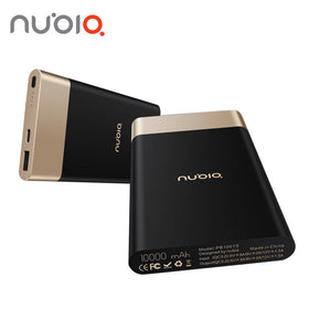 Nubia Universal Power Bank Two-way Quick Charge QC3.0 10000mAh USB Type C 5V/3A 9V/2A
