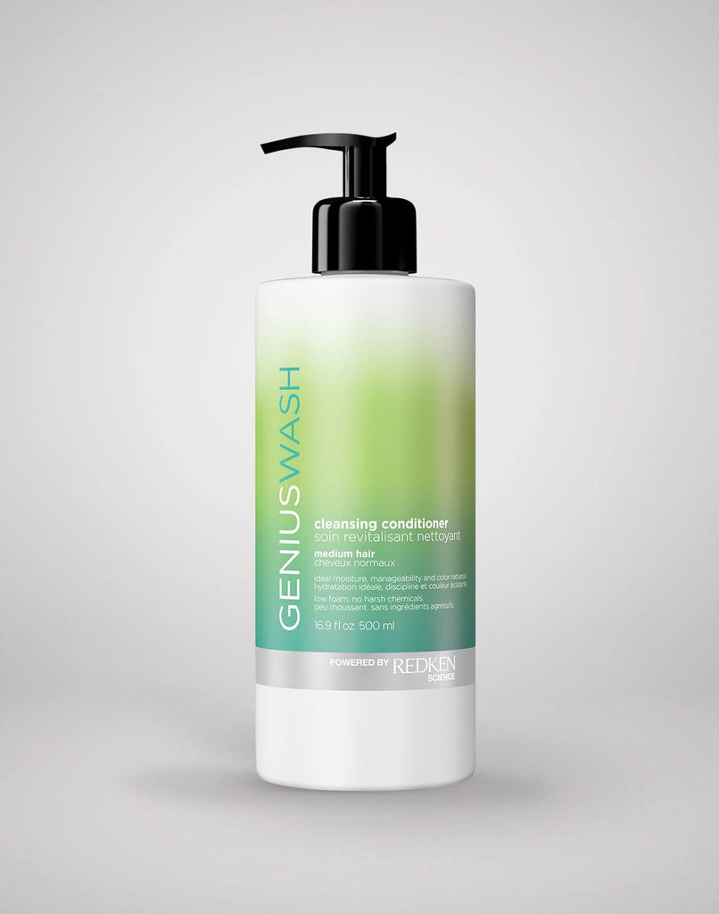 Genius Wash Medium Hair Redken Cleansing Conditioner