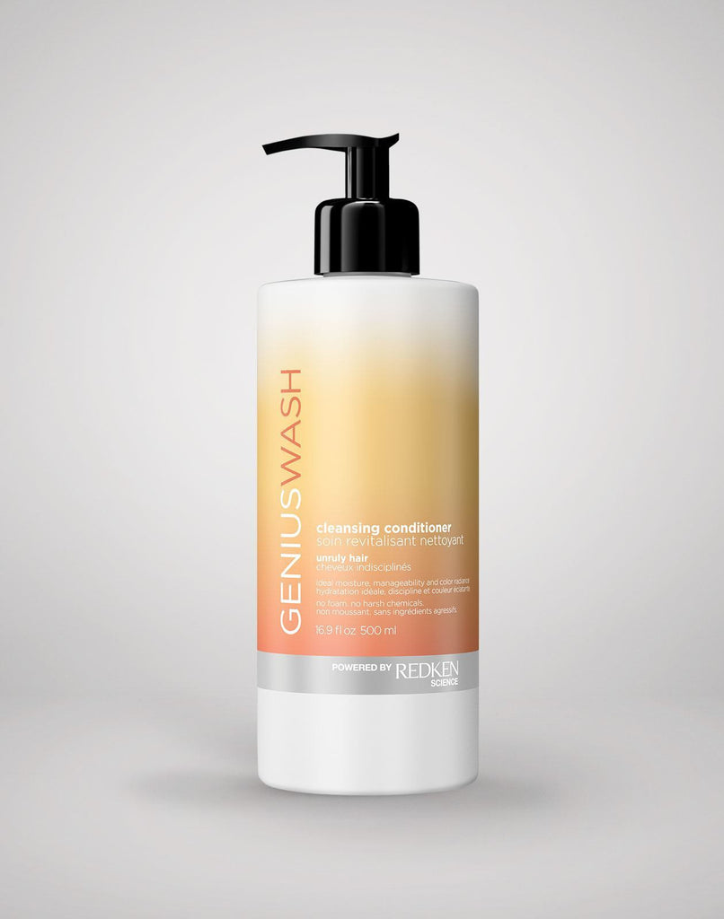 Genius Wash Unruly Hair Redken Cleansing Conditioner