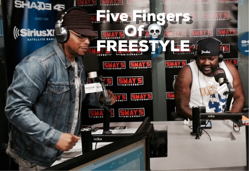 Mistah F.A.B. on Sway Universe #5FingersofDeath