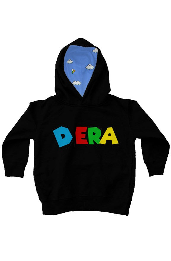 D. Era Kids Fleece Hoodies (Blk)