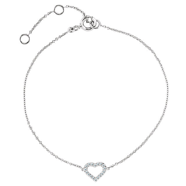 D. Era Diamond Heart Bracelet