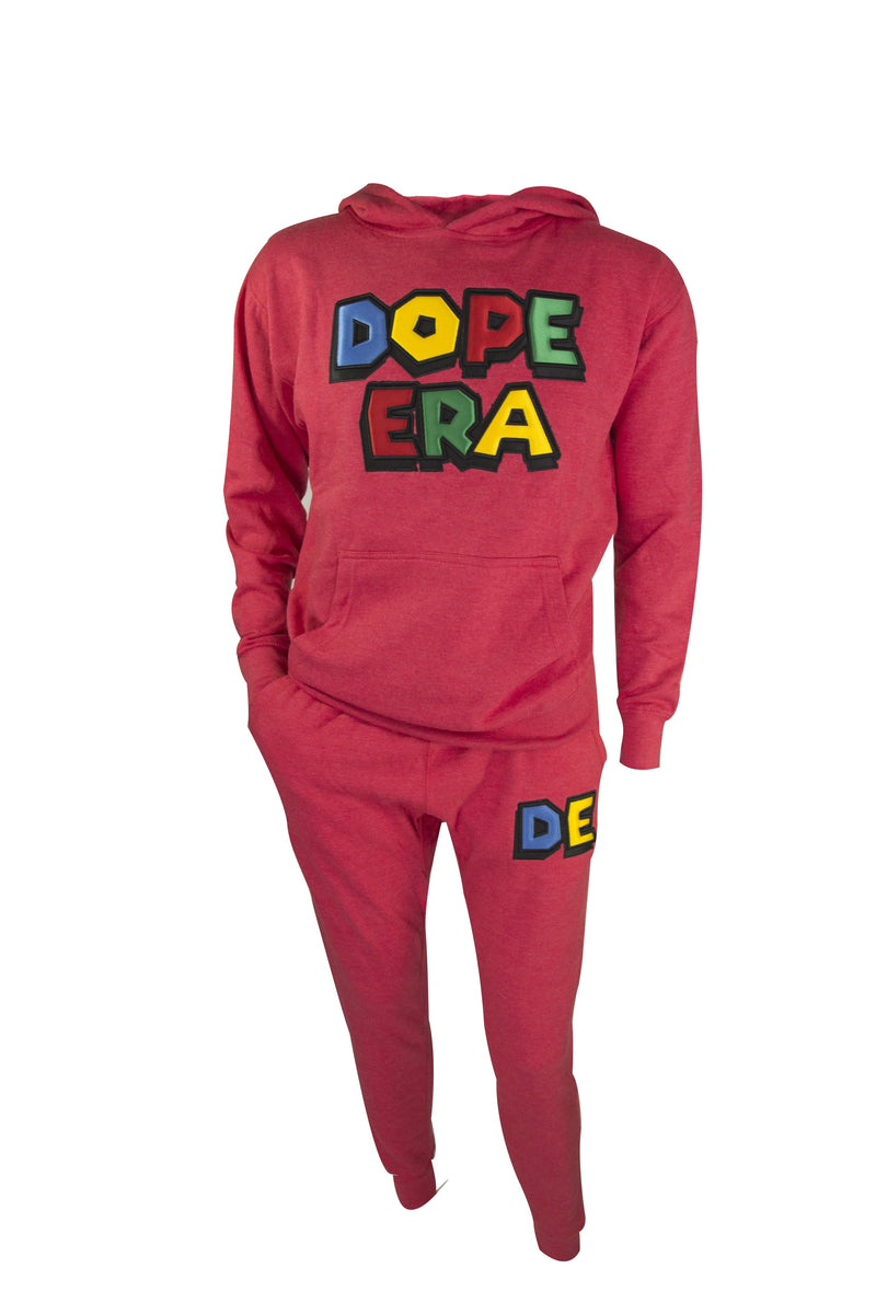 Dope Era Sweat Suit Hot Pink / SM / SweatSuit DE Super M Sweat Suit
