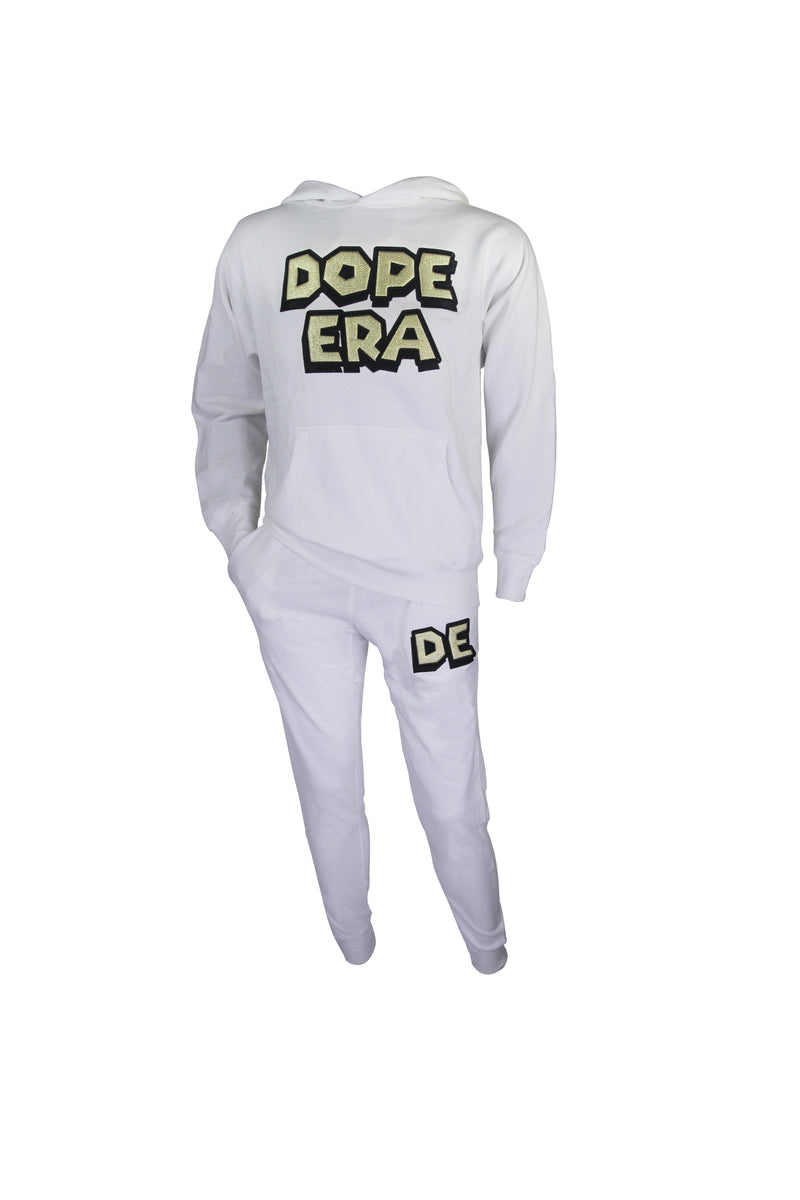 Dope Era Sweat Suit White / SM / (White/Gold) DE Super M Sweat Suit