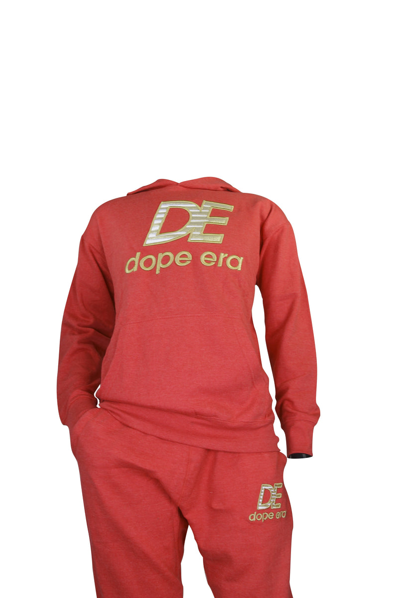 Dope Era Apparel Joggers Red / SM DE NB Jersey Jogger