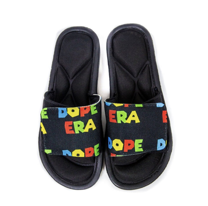 Dope Era Slides Black / 9 Men / Slides DE M Slides
