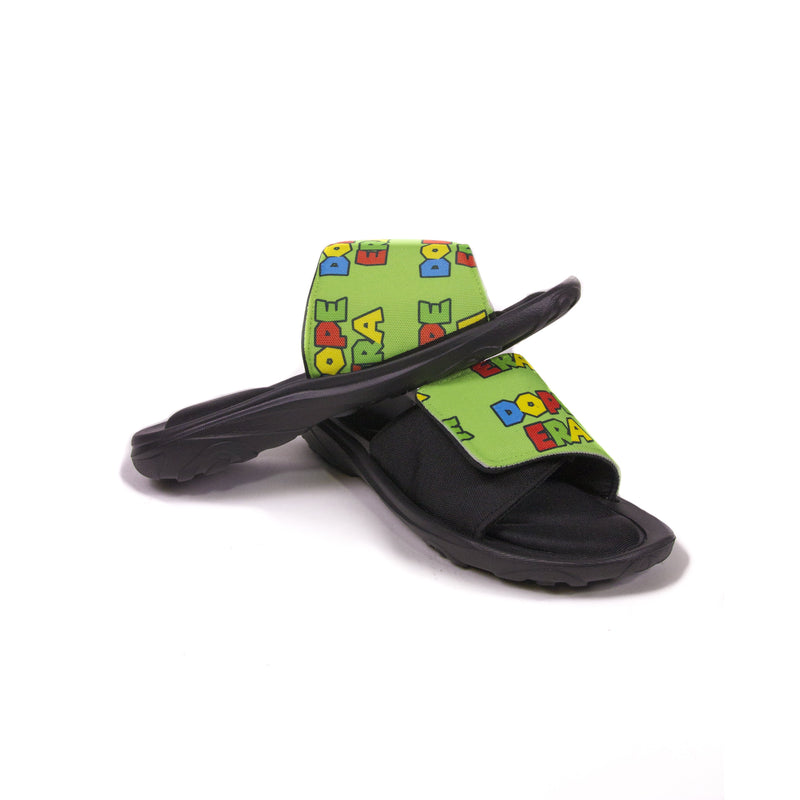 Dope Era Slides Lime / 9 Men / Slides DE M Slides