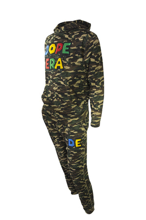Dope Era Sweat Suit Army Green / SM / SweatSuit DE Super M Sweat Suit