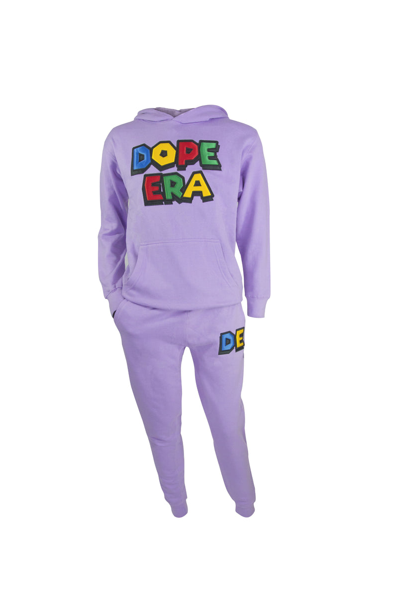 Dope Era Sweat Suit Purple / SM / SweatSuit DE Super M Sweat Suit
