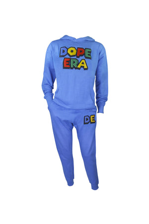 Dope Era Sweat Suit Bright Blue / SM / SweatSuit DE Super M Sweat Suit