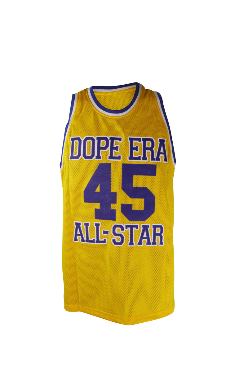 Dope Era Jersey Yellow / SM / Jersey DE Warriors Jersey