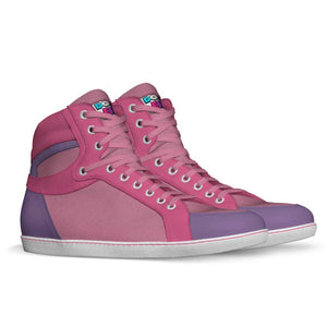 Dope Daddy Purp Leather & Suede High-Top