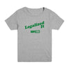 Legalized It (Green) Kid's Tee