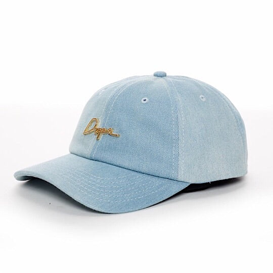 24K DOPE Script Denim Dad Hat