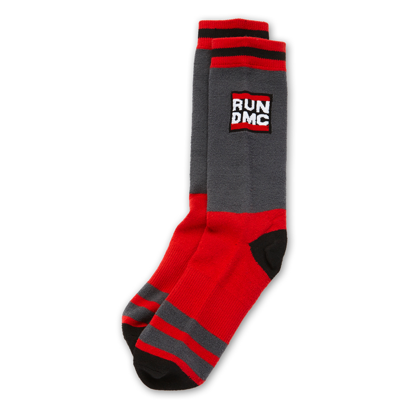 Run DMC BLACK W/ COLOR / OS Run Dmc | Logo Socks
