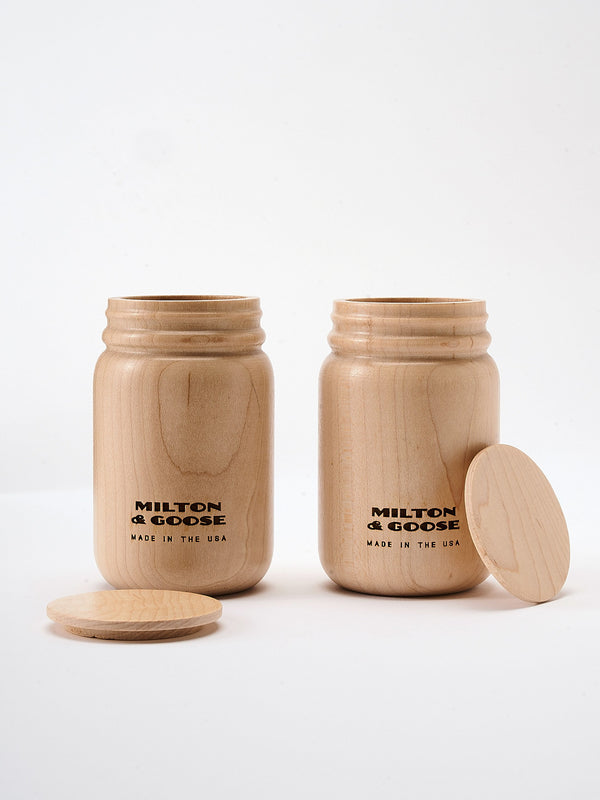 Milton and Goose // M&G Jars, Set of Two - All The Little Bows