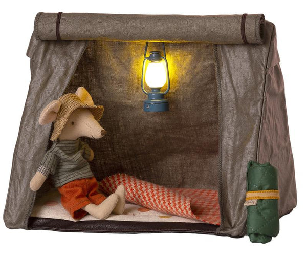 Maileg // Maileg - Happy Camper Tent, Mouse - All The Little Bows